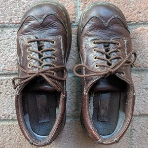 Dr Marten   12280 Women's brown leather Oxford